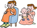 産前産後のアプローチ